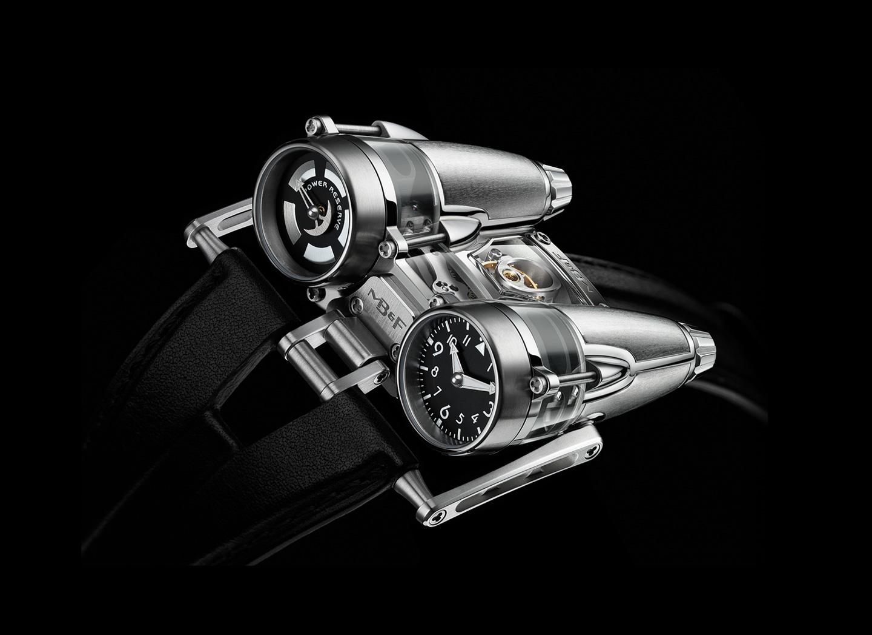 MB&F HM4 Thunderbolt Watch, High-tech Watches, Silver Watch, Modern Watch