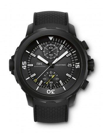 "IWC Aquatimer Chronograph Edition ""Galapagos Islands"", black watches"