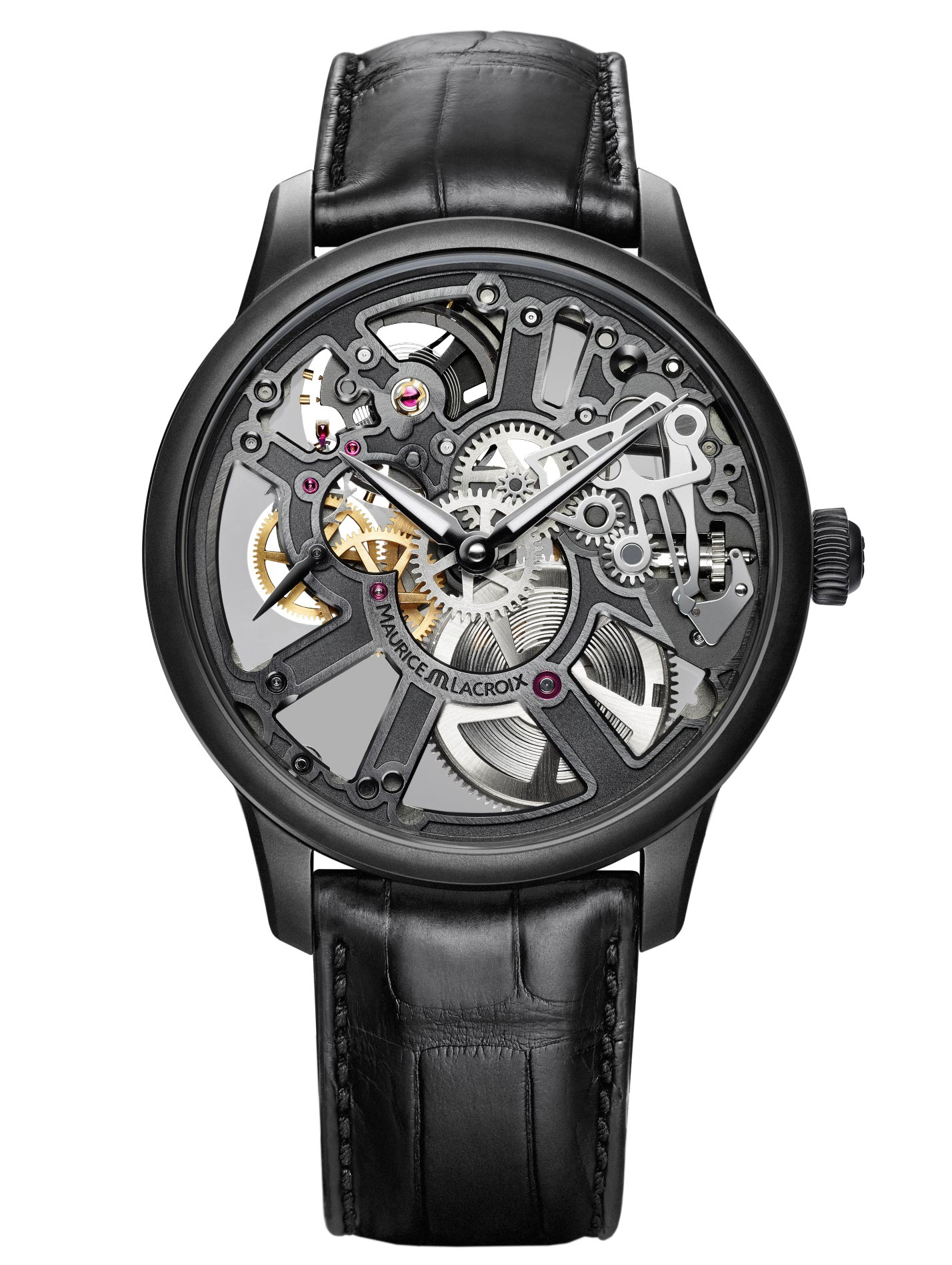 Maurice Lacroix Masterpiece Skeleton, skeleton watches