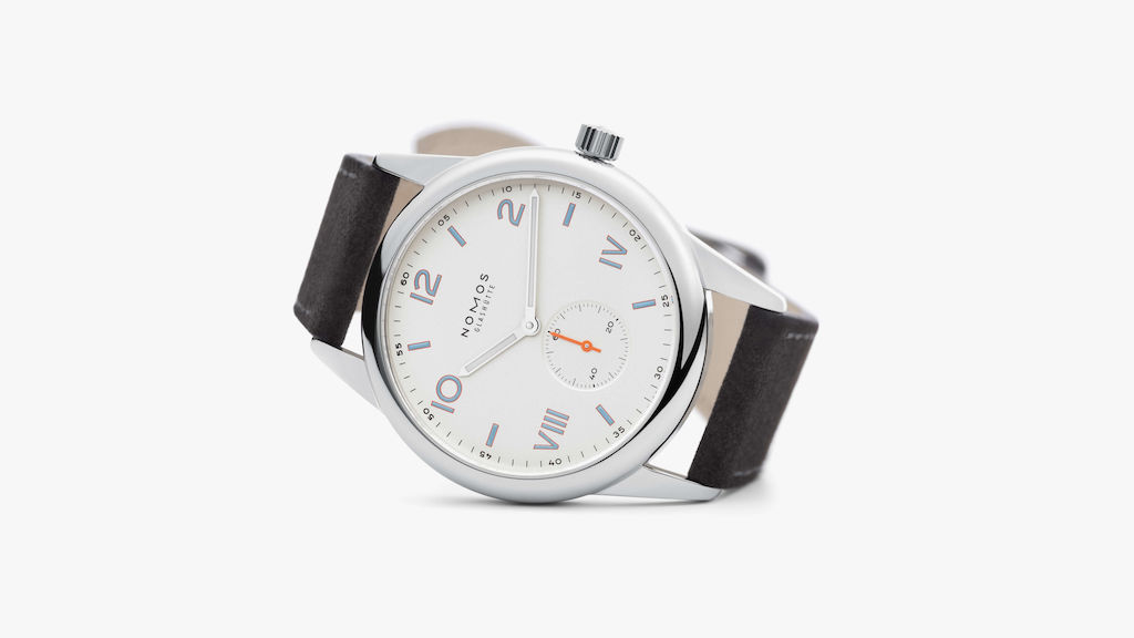 nomos watch, nomas club watch