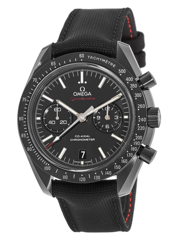 "Omega Speedmaster Moonwatch ""Dark Side of the Moon"", black watches, omega watches"