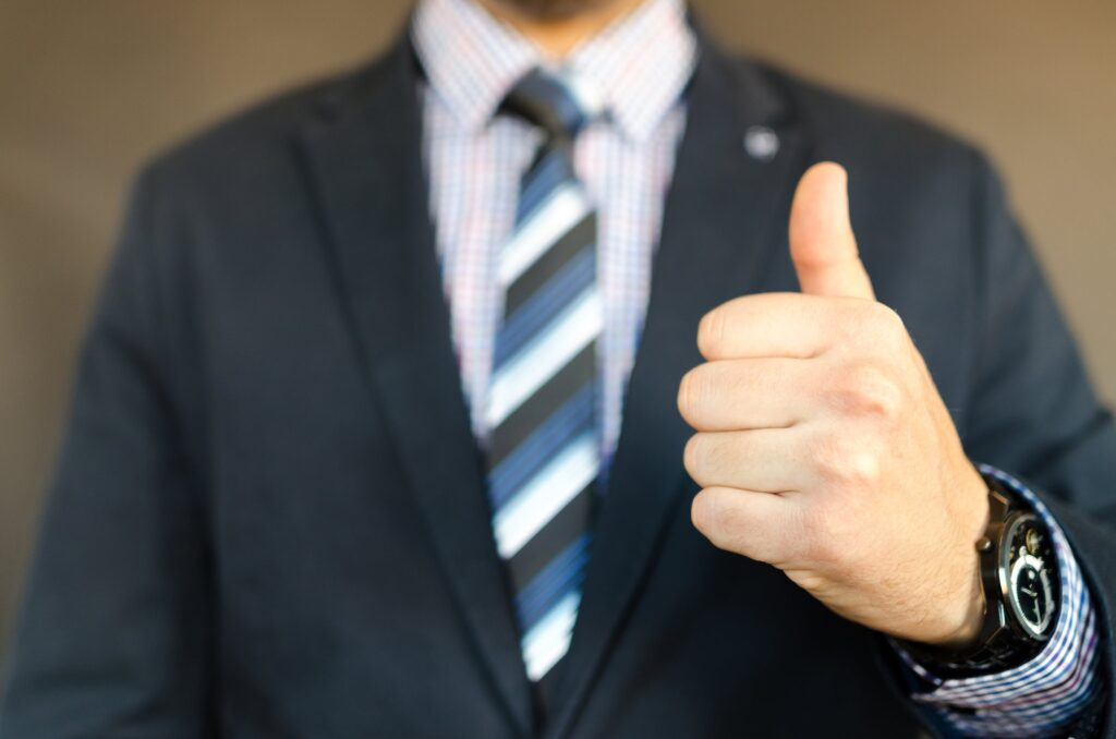 Watch Size, Watch Guide, Thumbs Up, Work Attire, Professional Clothing