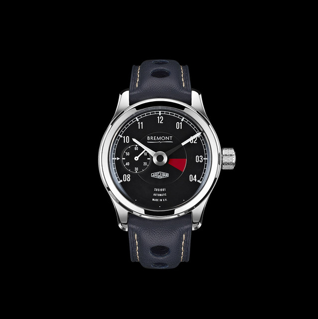 Bremont Watch, Black Watch, Automatic Watch, Leather Watch