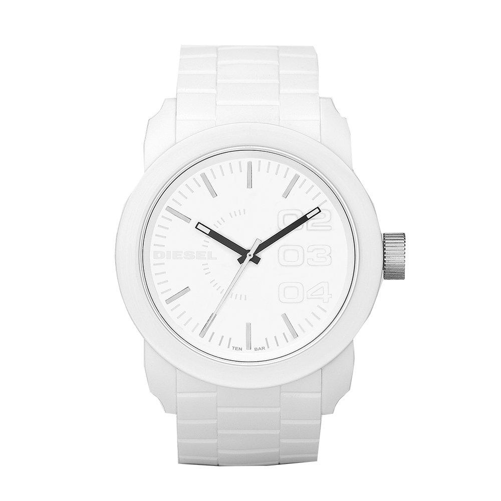 Diesel DZ1436, White Watches, Simple Watch, Minimalist Watch, Luxury Watch
