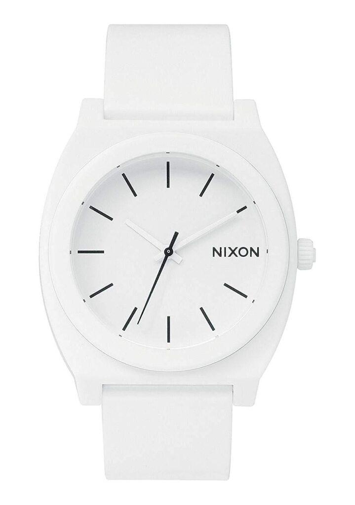 Nixon Time Teller, White Watches, Modern Watch, Minimalist Watch, Unique Watch