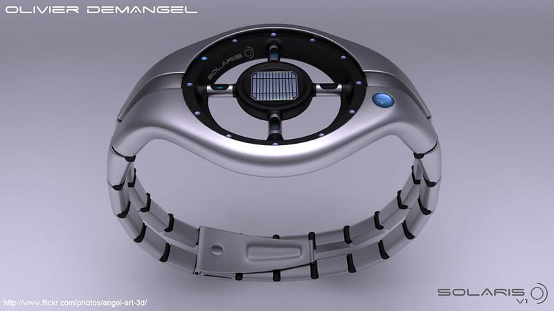 Olivier Demangel's Solaris Watch, High-tech Watches, Modern Watch, Technological Watch