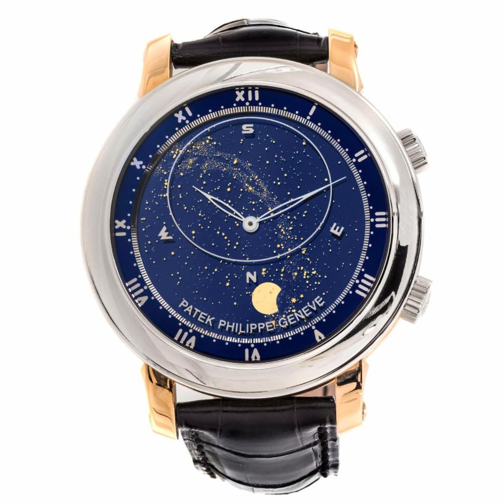Grand Complication Celestial, David Beckham Watches, Unique Watch, Leather Watch
