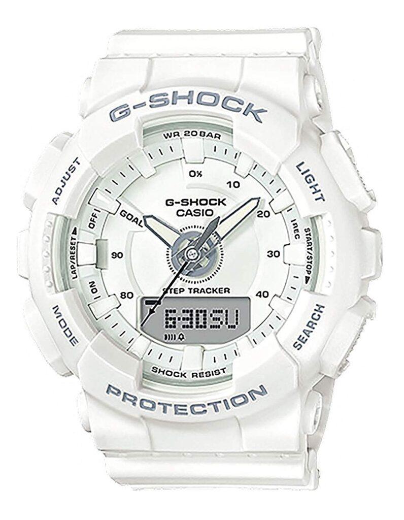 Casio G-Shock Gma-S130-7A, White Watches, Digital Watch, Modern Watch, Step Tracker Function