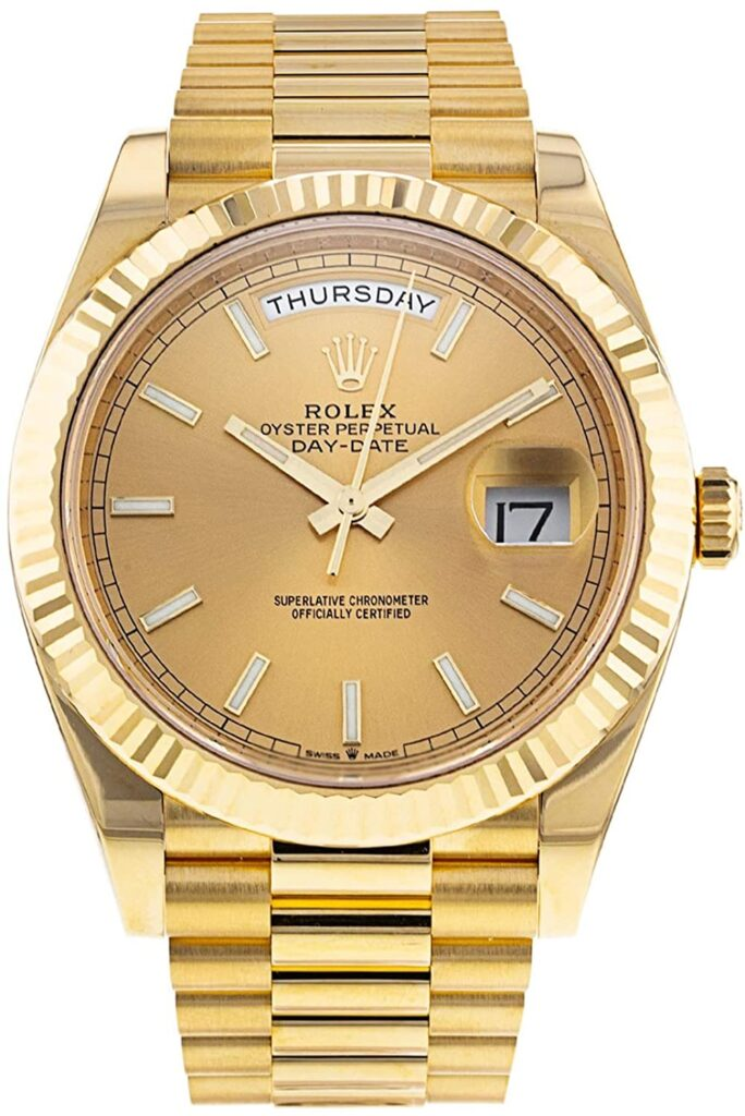 Rolex Day-Date, Drake, Gold, Luxurious, Swiss Watch, Automatic Watch