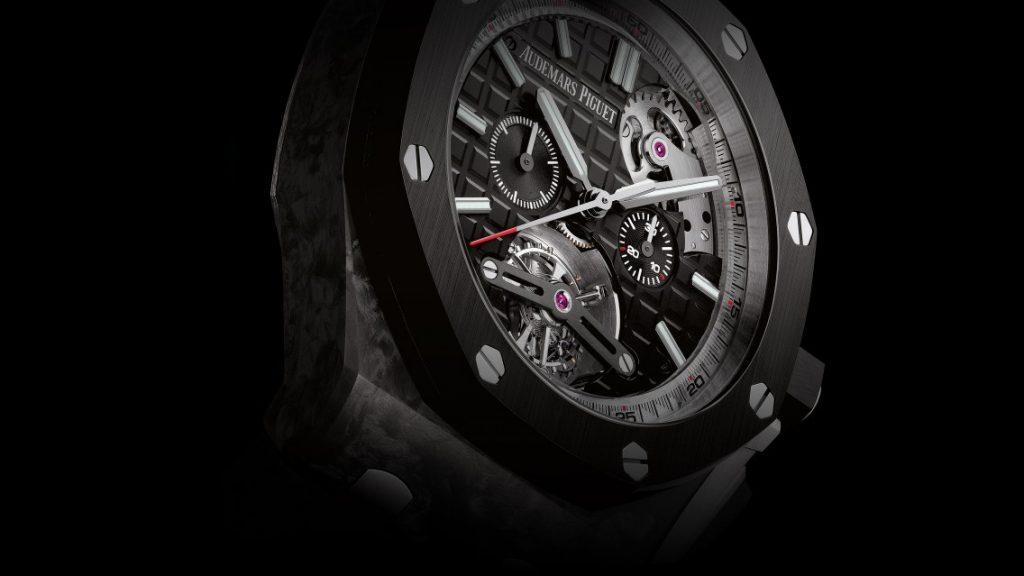 Audemars Piguet Royal Oak Offshore Selfwinding Tourbillon, Drake Watch, Special Edition Watch, Black Watch, Swiss Watch