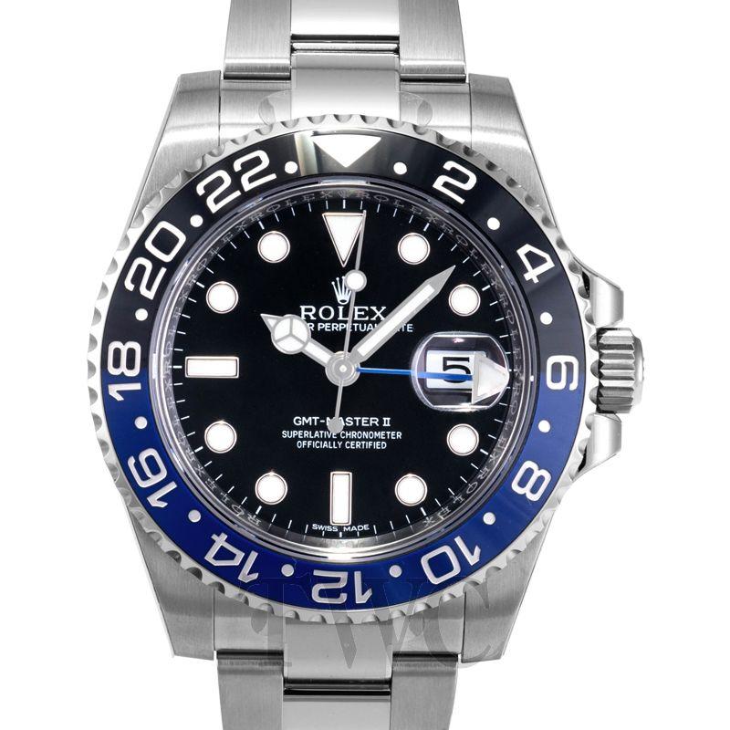 Rolex GMT-Master II, Drake, Blue, Black, Sapphires, Diamonds