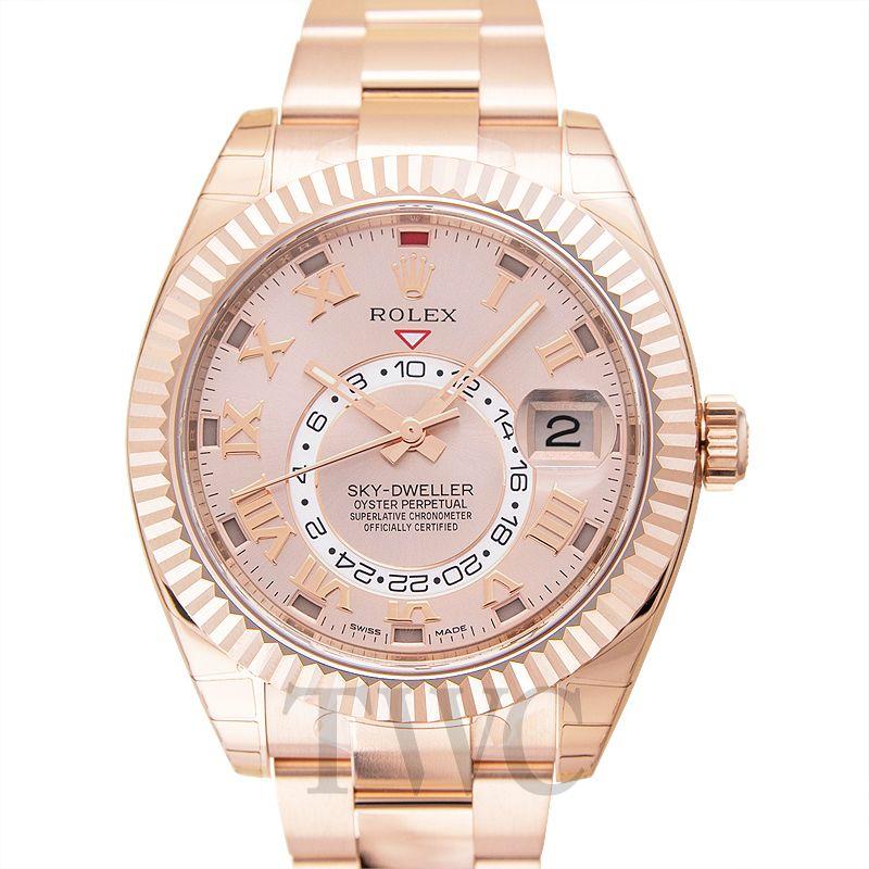 Rolex Sky-Dweller, Drake, Gold, Timekeeping