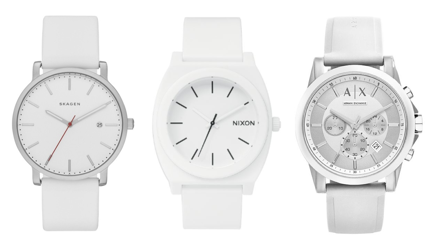 8 White Watches Every Minimalist Would Love