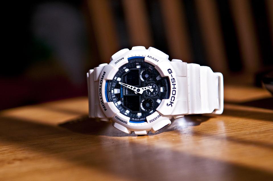 White Watches, G-Shock Watch, Modern Watch, Automatic Watch