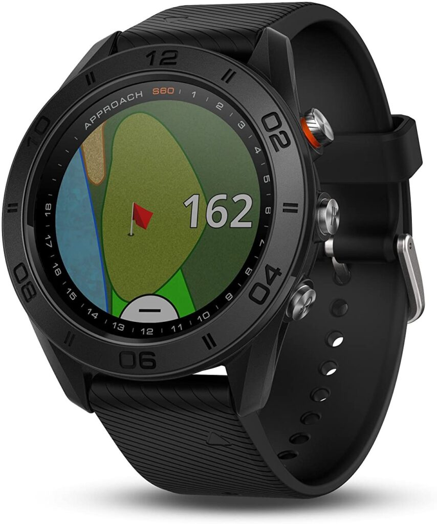 Golf Fashion, Garmin Approach S60, Black Watch, Smartwatch, Digital Watch, Modern Watch