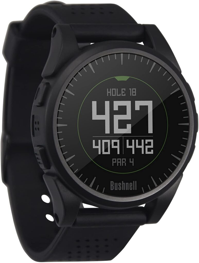 Golf Fashion, Bushnell Golf Excel Golf GPS Watch, Digital Watch, Smartwatch, Black Watch