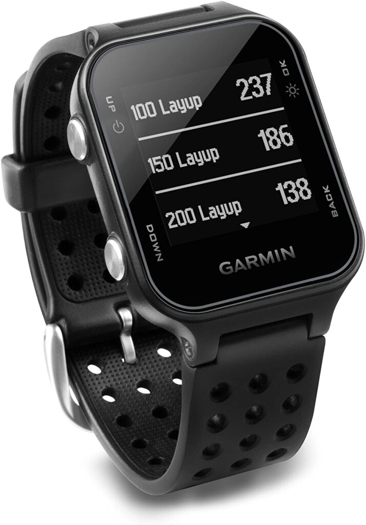 Golf Fashion, Garmin Approach S20, Digital Watch, Smartwatch, Modern Watch, Black Watch