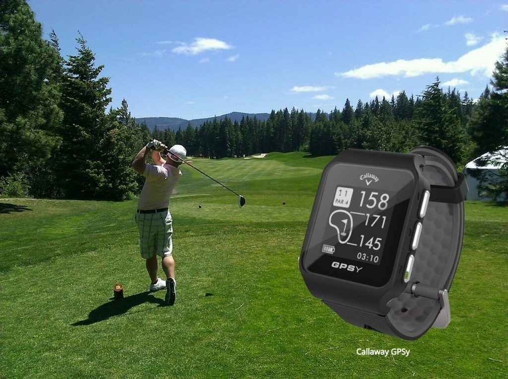 Golf Fashion, Callaway GPSy GPS Watch
