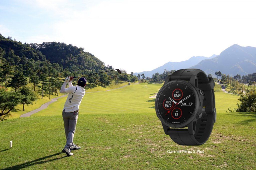 Golf Fashion, Garmin Fenix 5X Plus Golf Watch