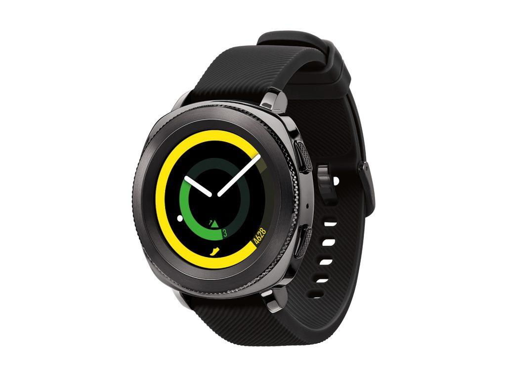 Samsung Gear Sport, Fitness Watch, Yellow, Green, Black, Pulsometer, Sleep Tracker, Waterproof