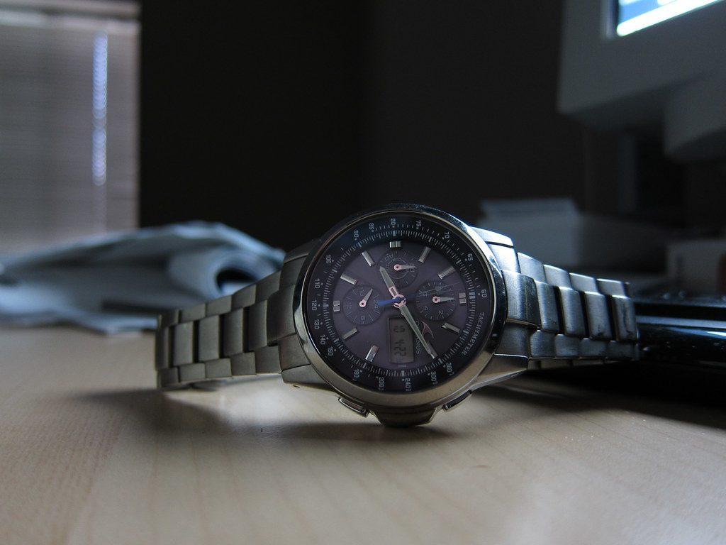 Solar Watch, Digital Watch, Steel Watch, Wristwatch, Modern Watch