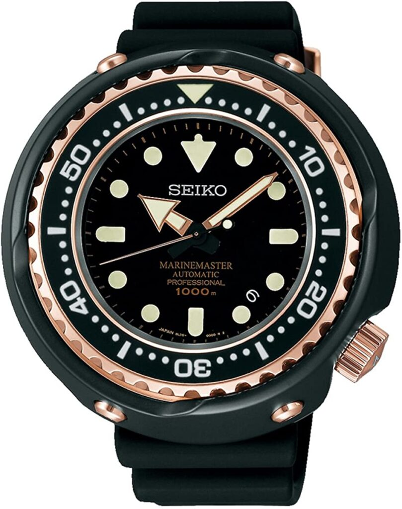 SEIKO Prospex Marinemaster, Dive Watch, Professional-looking Watch, Quartz Watch, Automatic Watch