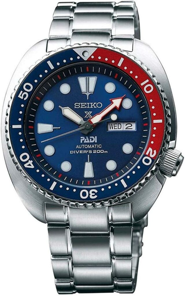 SEIKO Prospex Automatic Dive Watch, Dive Watch, Hardlex Coating, Blue, Waterproof Watch