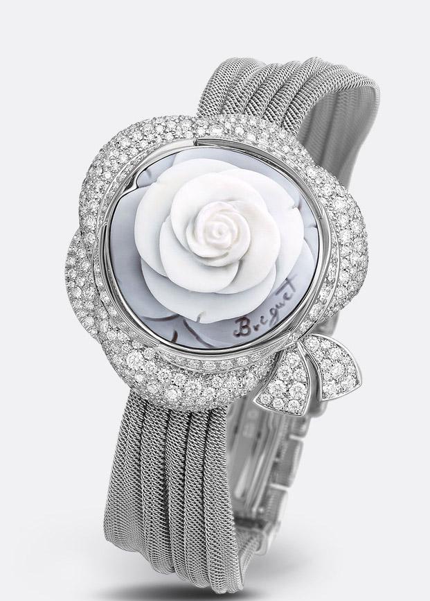 Breguet Secret de la Reine Watch, Ladies Diamond Watches, Ladies Watch, Luxury Watch, Floral-designed Watch