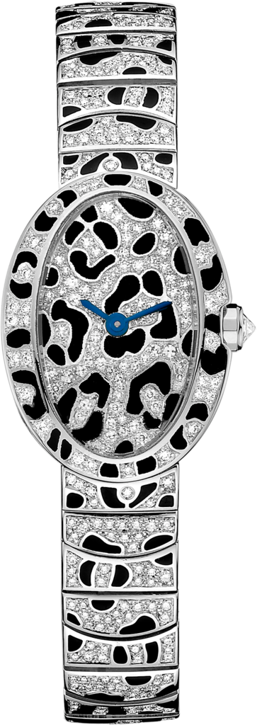 Cartier Mini Baignoire Panthère Spots Watch, Ladies Diamond Watches, Ladies Watch
