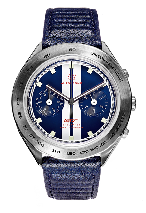 Ford GT Endurance Chronograph, Autodromo Watch, Stylish Watch, High-quality Watch, Convenient Watch, Blue Watch