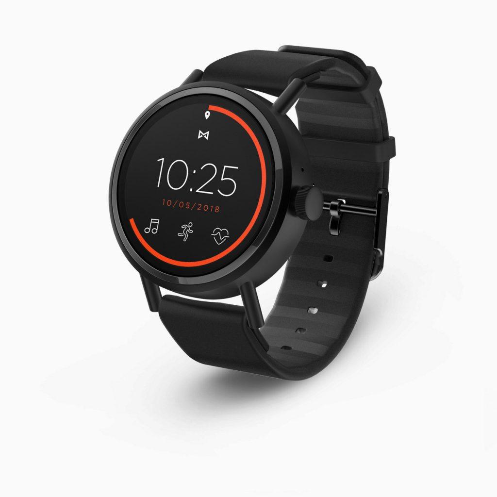 Misfit Vapor 2, Fitness Watch, GPS, Pulsometer, Sensor, Black, Orange, Digital Watch