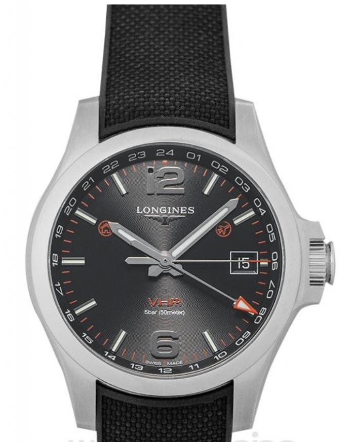 Logines Watch, Quartz Watches, Solar Watch, Black Strap, Analogue Watch, Modern Watch