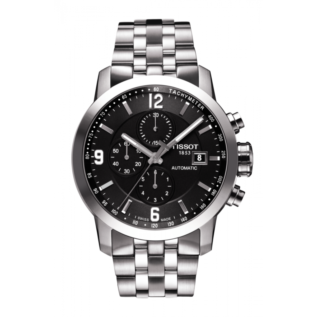 Tissot PRC200, Quartz Watch, Silver, Grey, Durable