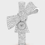 Van Cleef & Arpels Watch, Swiss Watch, Luxury Watch, Unique-looking Watch, Diamond Watch