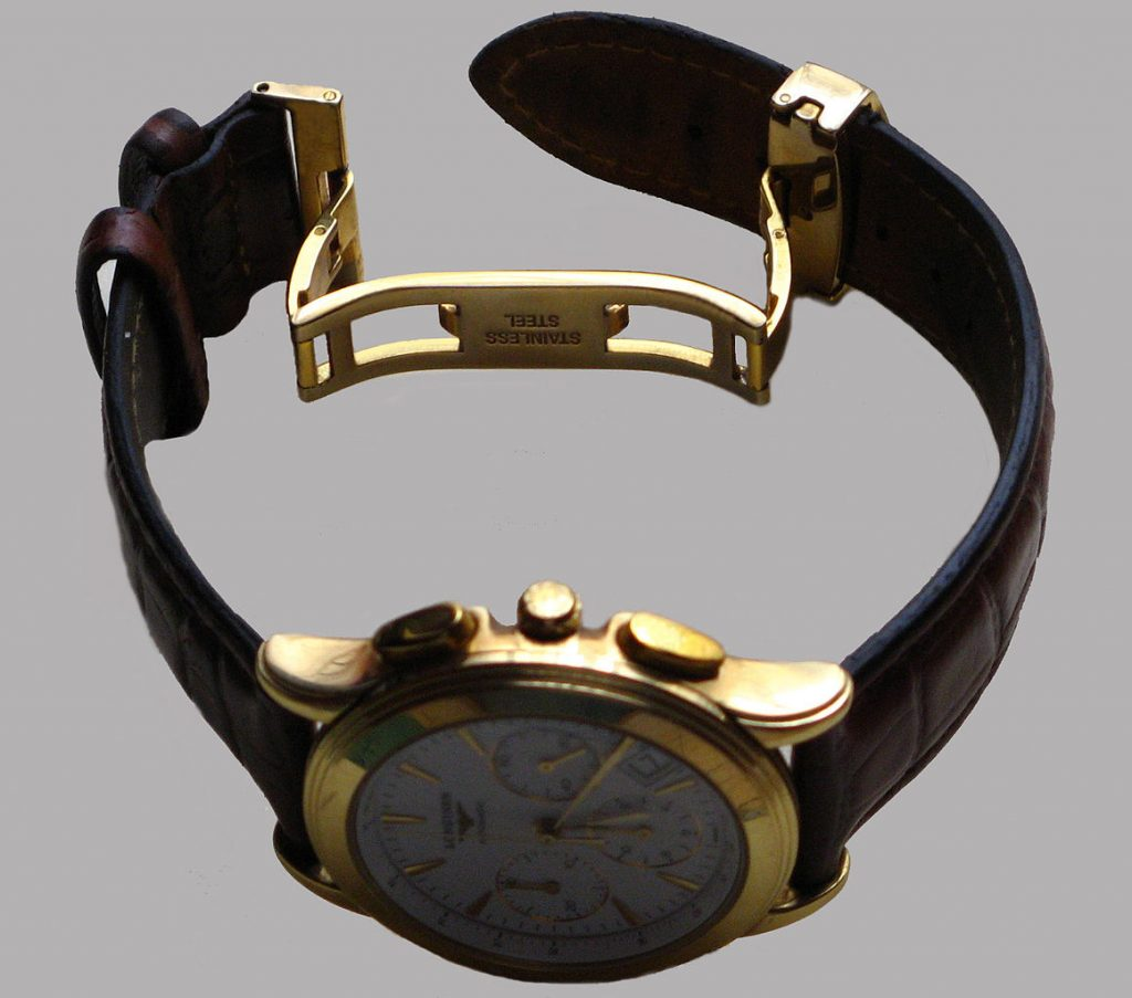 Watch Links, Golden Watch, Watch Band, Watch Strap, Mechanical Watch