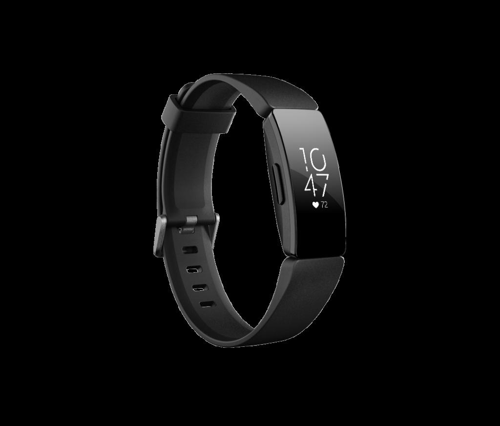 Fitbit Inspire HR, Fitness Watch, Altimeter, Digital Display, Black Watch