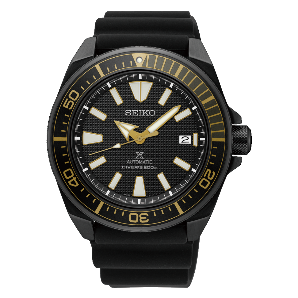 SEIKO Prospex Black Ion, Dive Watch, Illuminated, Black