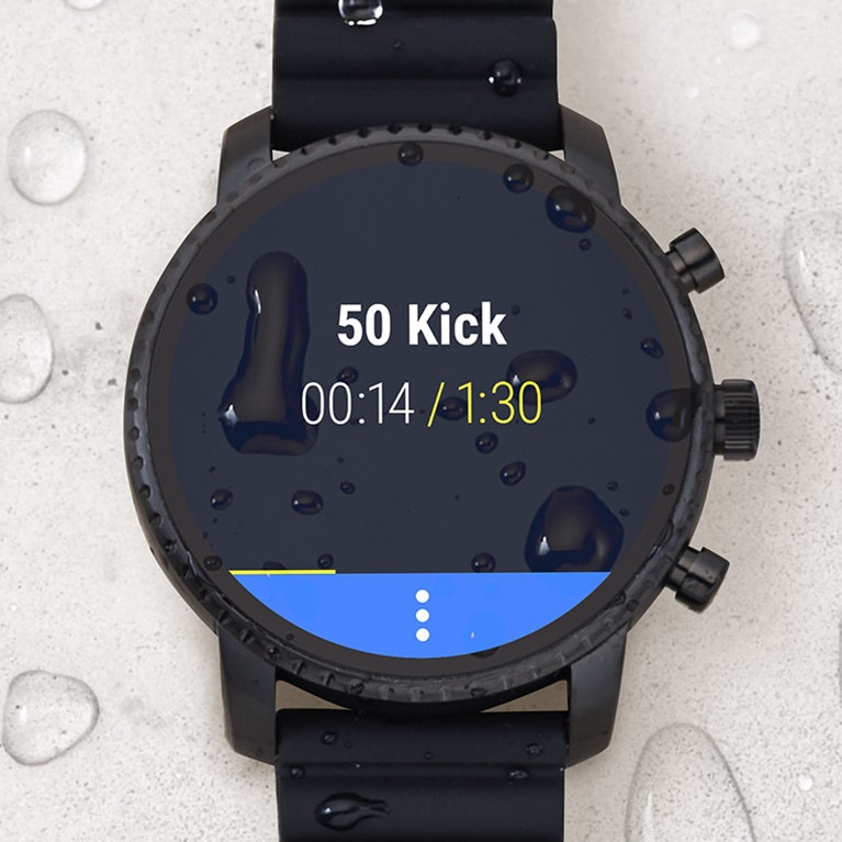 Fossil Gen 4 Smartwatch Swimproof, Digital Watch, Modern Watch, Water-resistant Watch