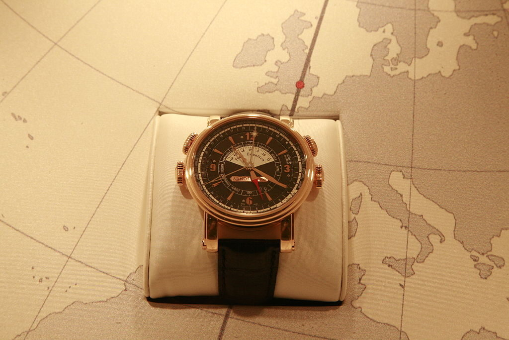 Arnold & Son, Historical Watch, Classic Watch, Wristwatch, Map