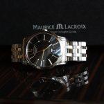 Maurice Lacroix Watch, Luxury Watch, Swiss Watch, Silver Watch, Steel Watch, Automatic Watch