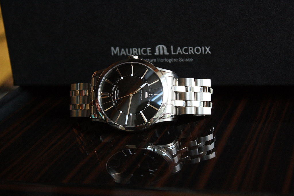 Maurice Lacroix Watch, Luxury Watch, Swiss Watch, Silver Watch, Steel