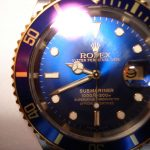 Rolex Oyster, Colourful Watch, Blue Watch Face, Iconic Watch, Automatic Watch