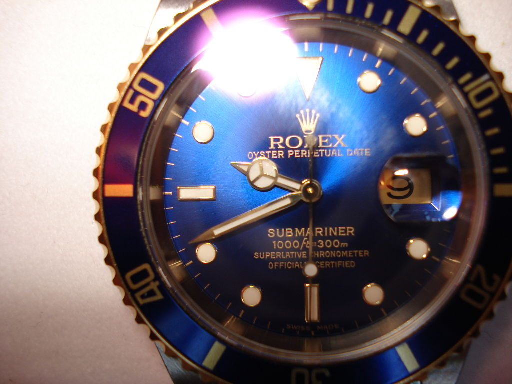 Rolex Oyster, Blue, Light, Colorful, Blue, Iconic