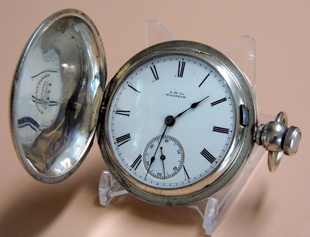 Waltham Watch, Pocket Watch, Classic Watch, Vintage Watch, Antique Watch, Old Watch
