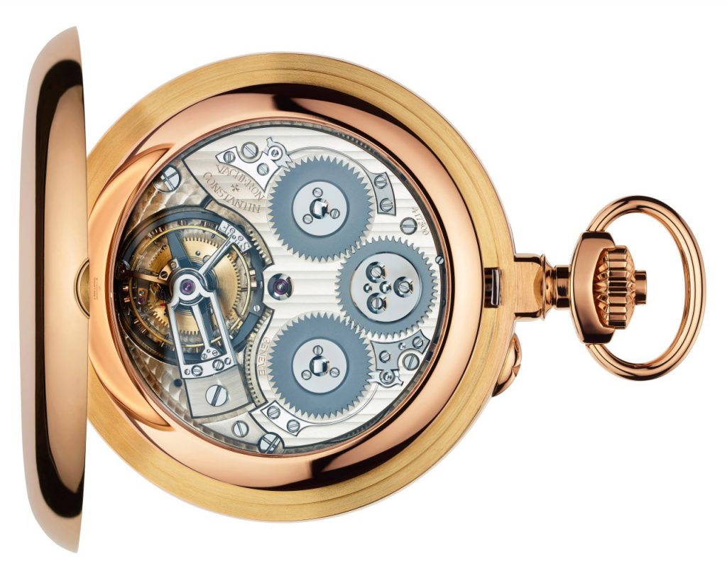 Vacheron Constantin Coffret Observatoire Remontoir Tourbillon, Gold Watch, Pocket Watch, Luxury Watch