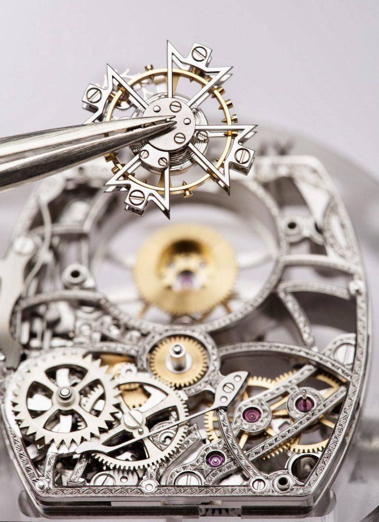 Vacheron Constantin Malte Tourbillon Openworked, Watch Components, Watch Parts, Steel Watch