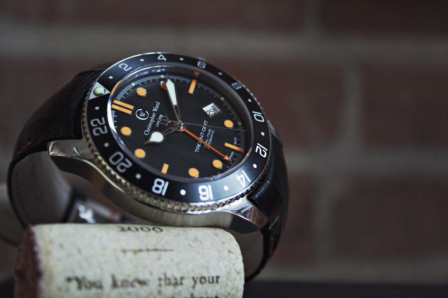 Christopher Ward, British Watch Brands, Black Dial, Sleek Watch, Analogue Watch