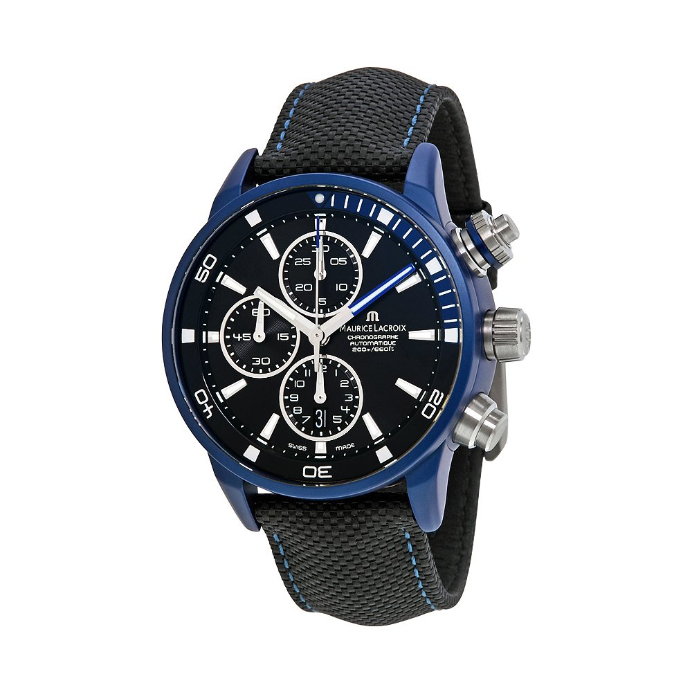 Maurice Lacroix Pontos S, Outstanding Watch, Automatic Watch, Chronograph Feature, Swiss Watch