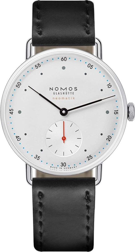 Nomos Tangent Neomatik, Nomos Watch, Clean Watch, Crisp Watch, Legible Watch, Leather Strap