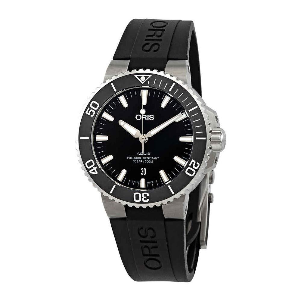 Oris Aquis Date Automatic, Automatic Watch, Eyecatching Watch Design, Rubber Strap